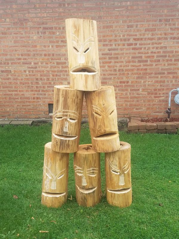 Tiki Fire Logs, Bonfire Logs for Sale in Aurora, IL - OfferUp