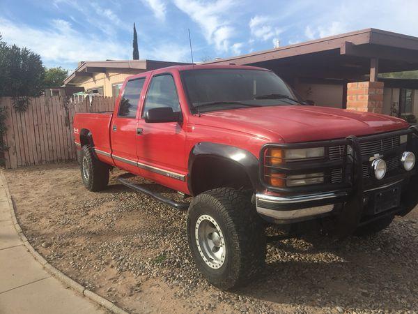 1998 Chevy K3500 4x4 For Sale In Tucson Az Offerup