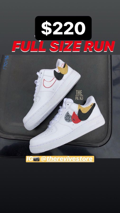 "d8c271f84f6b Nike Air Force 1 Low - Customs ""Swoosh Remix"" for Sale in Perth ..."