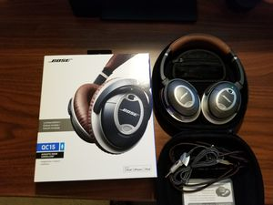 Bose QC15 QuietComfort 15 Limited Edition Brown Noise Cancellation Headphones for Sale in Gaithersburg, MD
