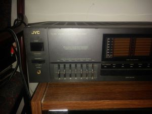 integrated amplifier AX-R97BK JVC for Sale in NO POTOMAC, MD