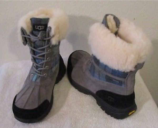 4c5cb7e6abe NEW UGG Butte Surf Plaid Mens Waterproof Winter Boots 10 Blue Surf Plaid  for Sale in Pleasantville, NJ - OfferUp