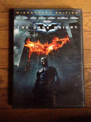 DVD The dark Knight for Sale in Detroit, MI