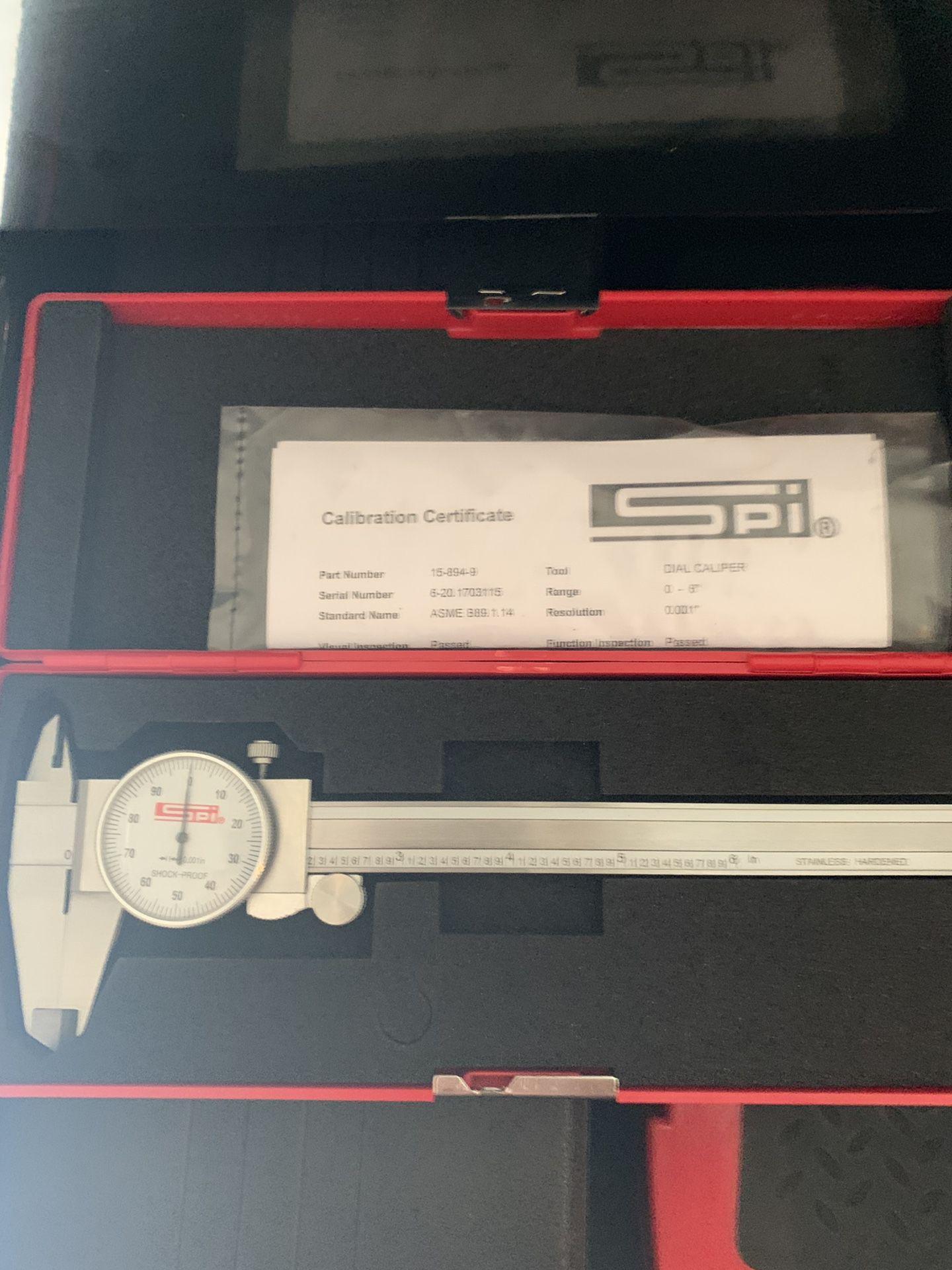 New spi caliper $30 6 inch $30