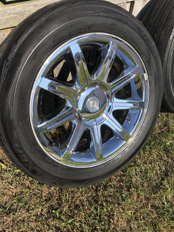 Chrysler 300 Chrome Wheels Bolt Pattern 5x114 3 Auto Parts In