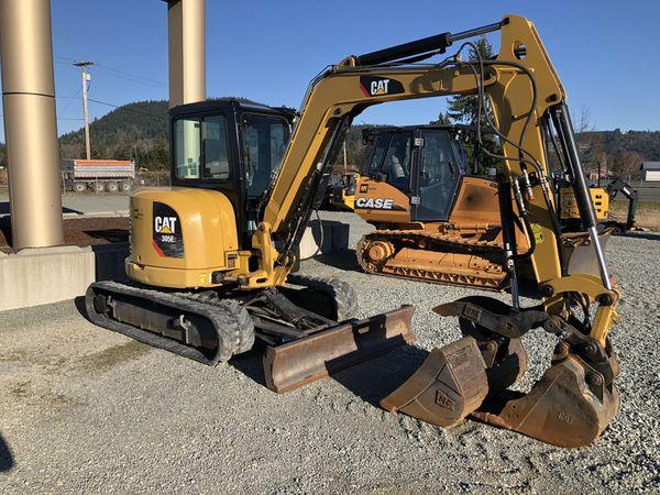CAT 305E2CR Mini Hydraulic Excavator for Sale in Seattle, WA - OfferUp