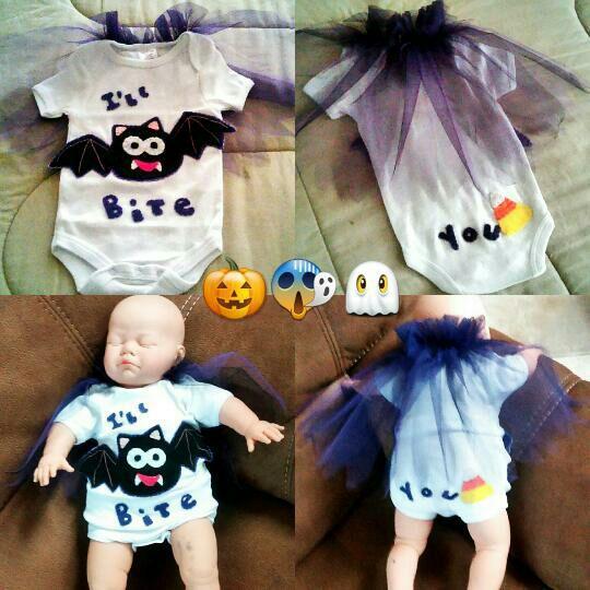 Bat Onesie Baby Boy