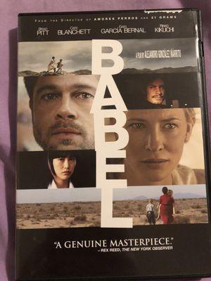 Babel, DVD for Sale in Salt Lake City, UT