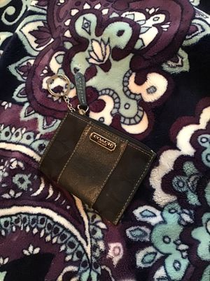 Photo Coach coin purse