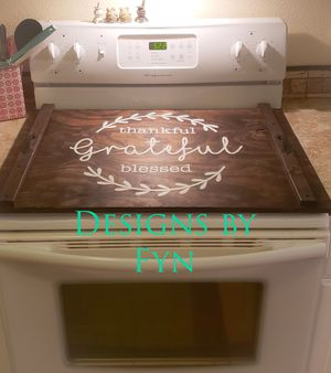 Handmade Wood Stove Top Cover for Sale in Clearwater, FL