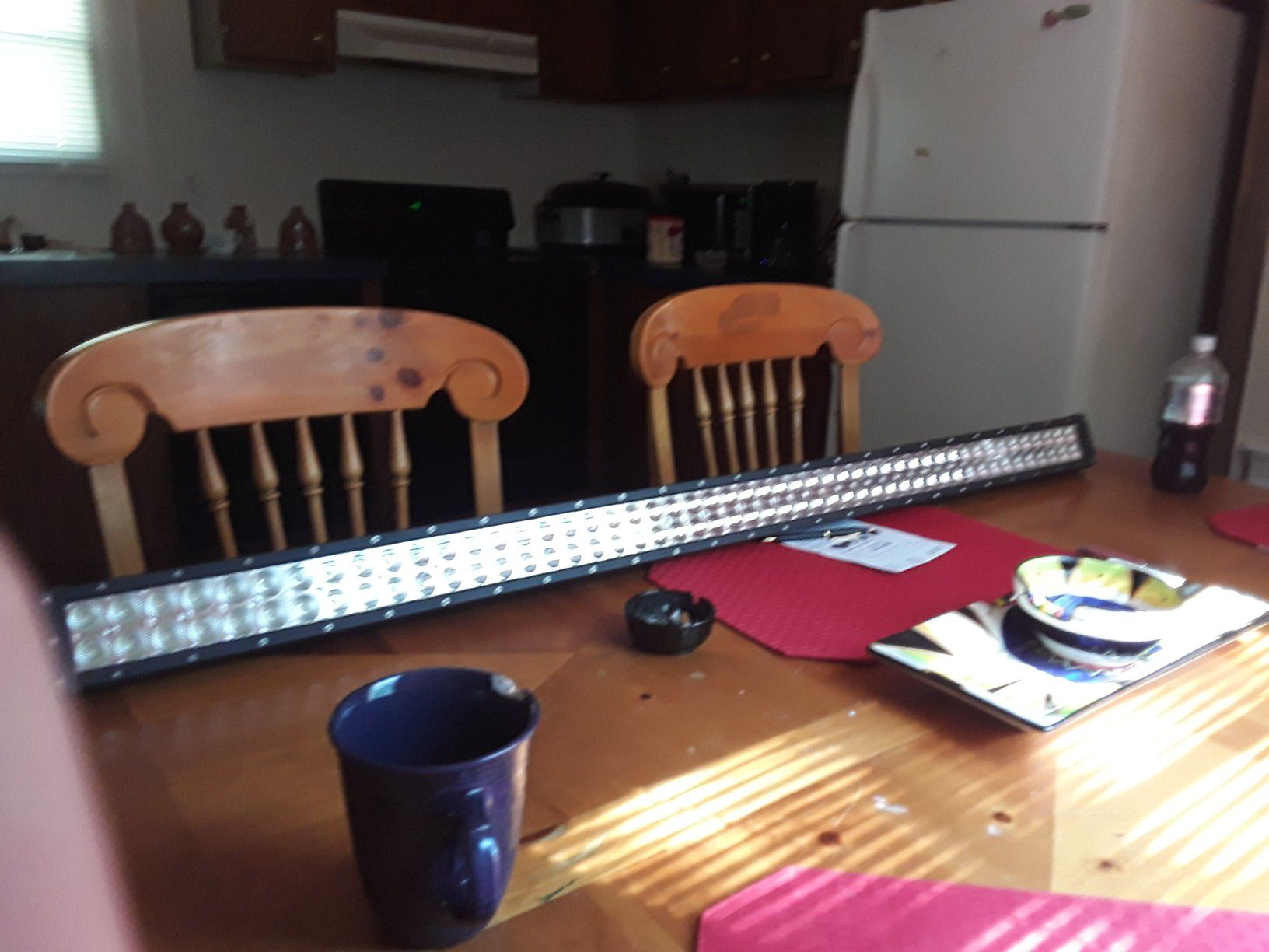 52 inch light bar for truck with bracket