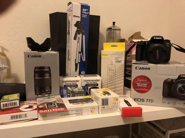 Brand new Canon EOS 77D for Sale in Sacramento, CA - OfferUp