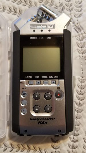 Zoom H4n Professional Recorder for Sale in El Cajon, CA