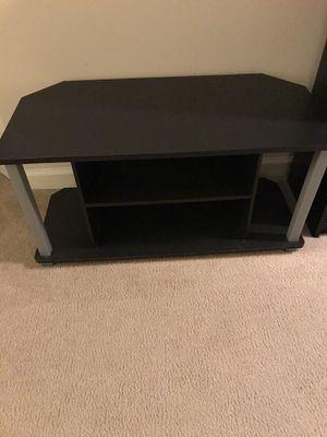 Black small tv stand for Sale in Arlington, VA