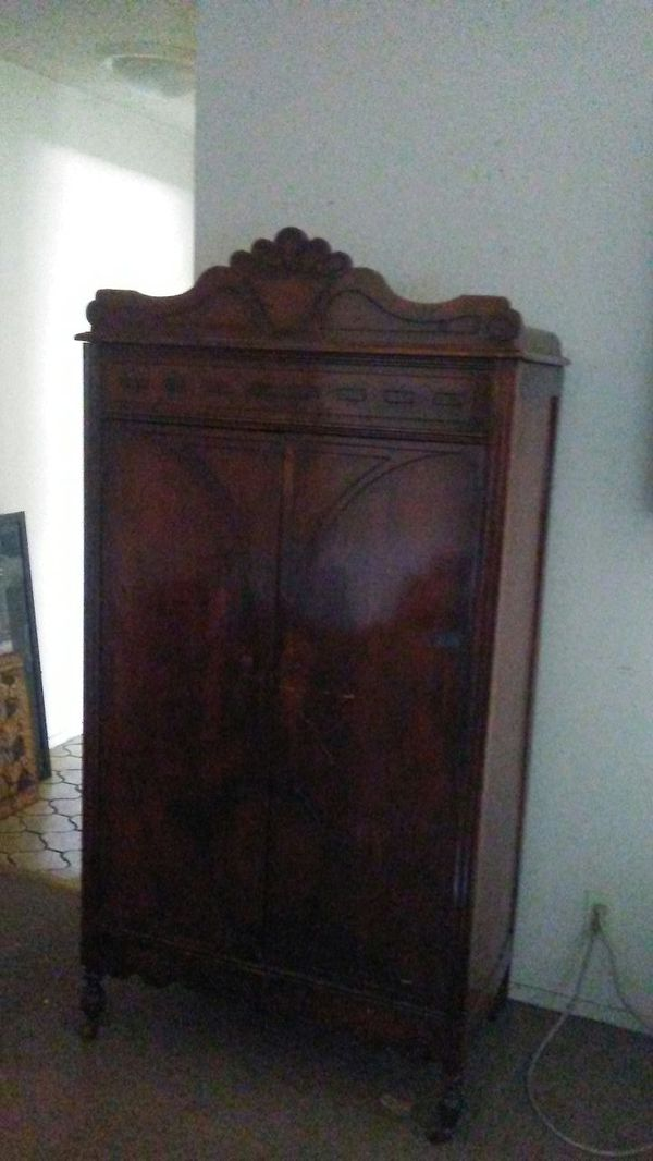 Antique furniture/ armoire/dresser/table for Sale in San Jose, CA - OfferUp - Antique Furniture/ Armoire/dresser/table For Sale In San Jose, CA