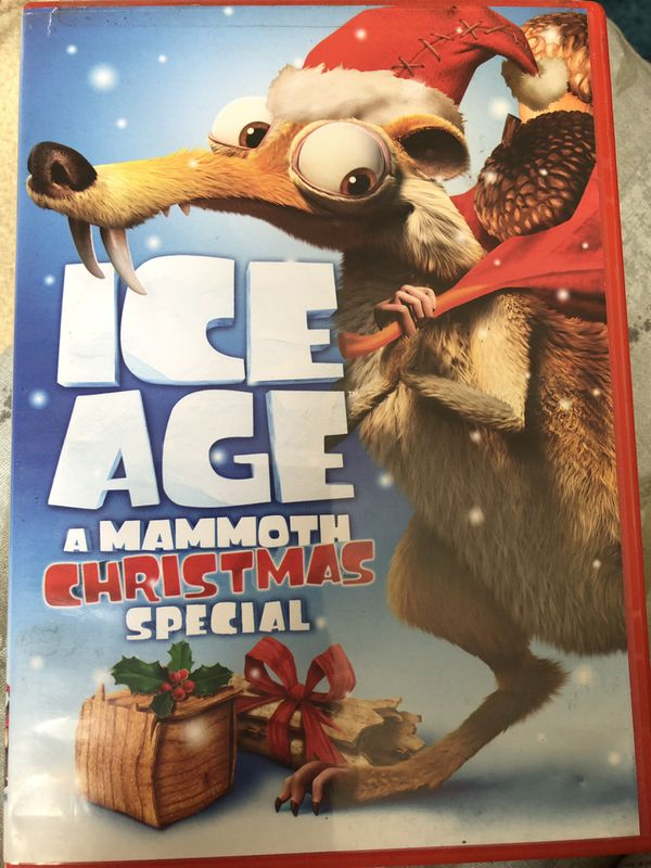 Ice Age A Mammoth Christmas.Ice Age A Mammoth Christmas Special For Sale In South Gate Ca Offerup