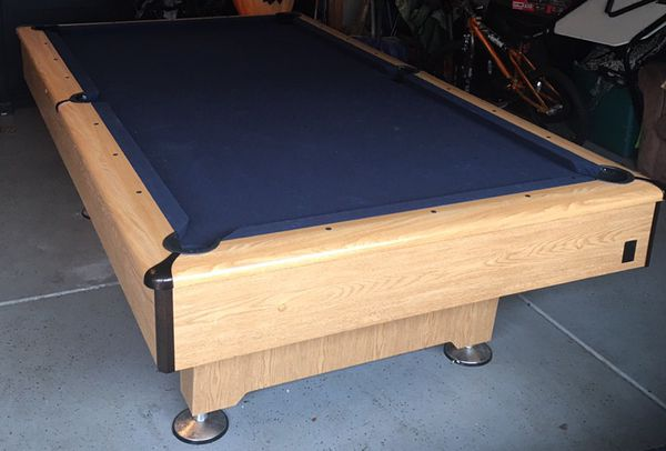 Kasson Pool Table Delivered Installed New Cloth Accessories Ft - 8ft kasson pool table