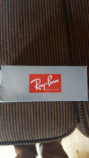Brand new custom Ray Bans still on box and plastic for Sale in Dillon, CO