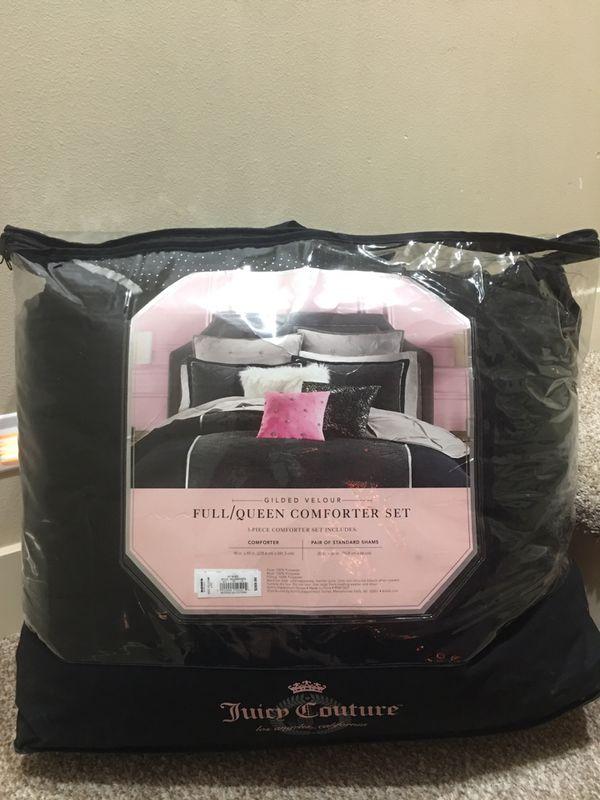 Juicy Couture Full Queen Comforter Set For Sale In Auburn