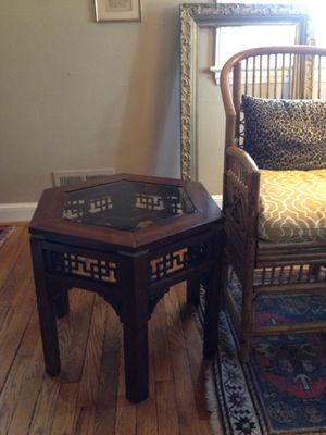 Asian Chinoiserie Table for Sale in Silver Spring, MD