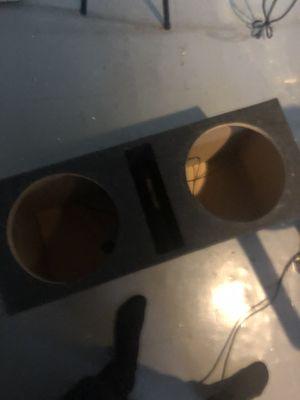 Photo Speaker box / JL audio amp