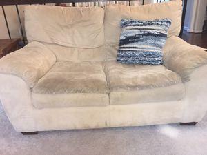 Free 2 Seater Sofa/Love Seat for Sale in Burke, VA
