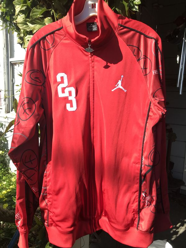 7bd2d1e4c71 Jordan Jacket Retro Red Black and White for Sale in San Jose