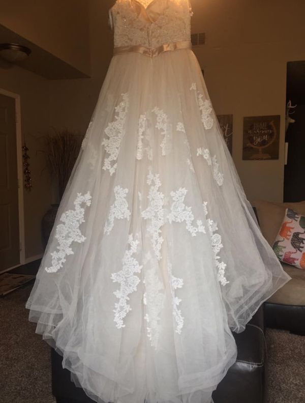 Alfred Angelo Wedding Gown for Sale in Nashville, TN - OfferUp