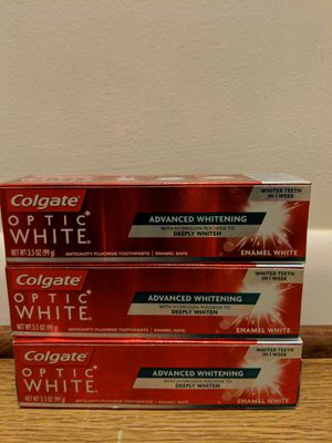Colgate optic white for Sale in Rockville, MD