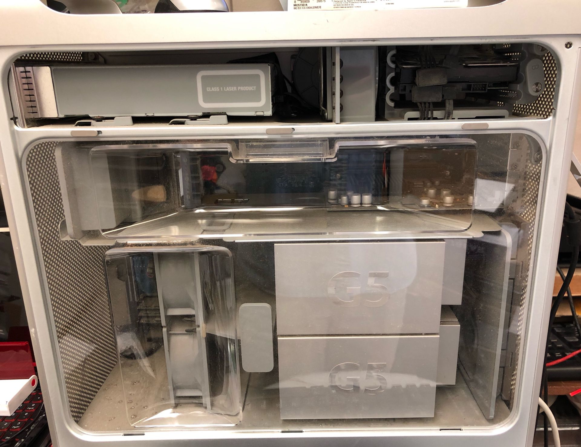 Mac G5 Tower OS X 5.9 Reload 750Gb HD 3Gb Memory Dual CPUs (2 CPUs) See Pics No Questions No Offers No Deals No Shipping No Support Cash & Carry