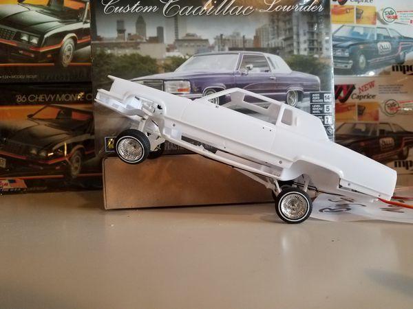 Revell Custom Cadillac Lowrider Model Car On Hydraulics
