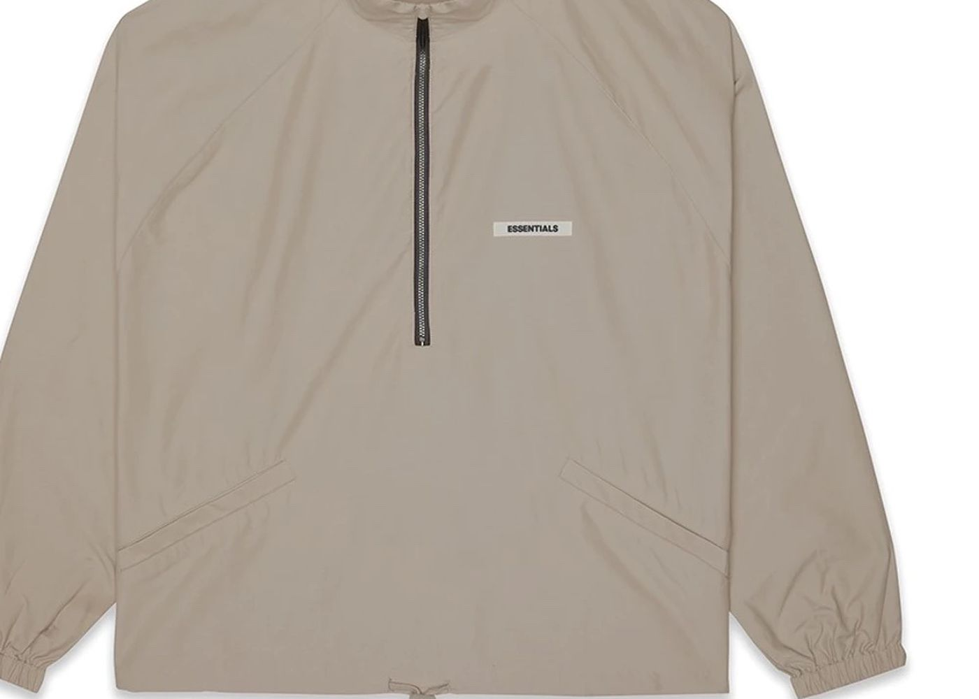 Essential Fear Of God Halfzip Traco Jacket Taupe