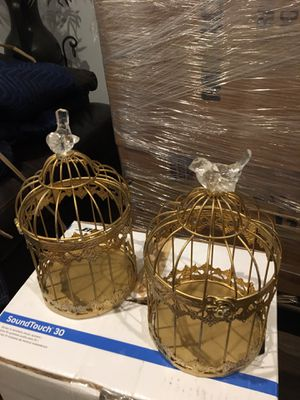 Gold Wedding Bird Cages for Sale in Chevy Chase, DC