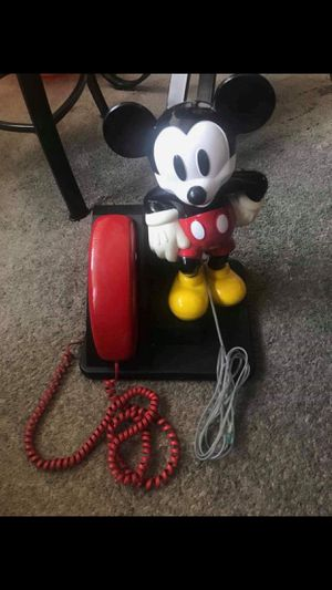 Photo Mickey mouse phone