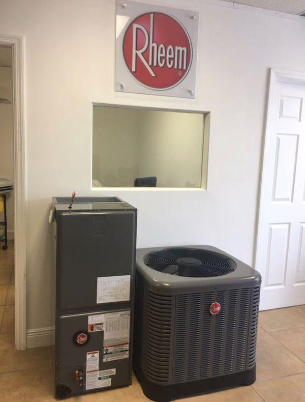 Rheem - Heat Pump - All Sizes - Ne for Sale in Orlando, FL - OfferUp