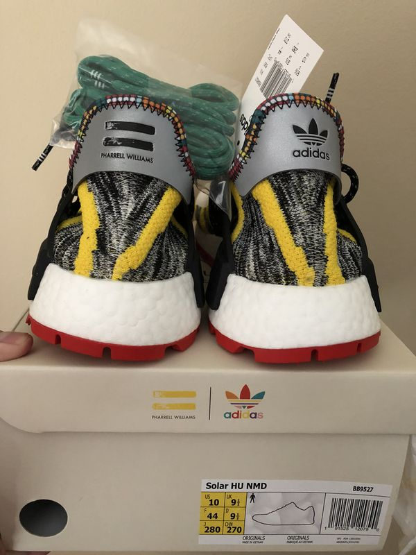 fee8453eaead7 Brand New Adidas X Pharrell WILLIAMS HU NMD Solar Pack Core Black SZ 10 in  men s  11.5 in women s for Sale in Vancouver