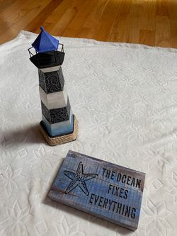 Lighthouse and light up sign Thumbnail