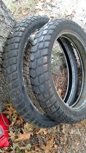 Bridgestone trail wings front/rear tires for Sale in Petersburg, VA
