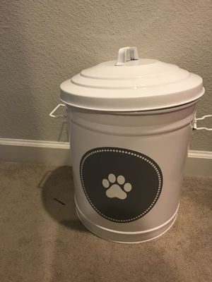 Cute dog food container for Sale in Tampa, FL
