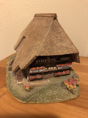 Lilliput Lane Black Forest German House Signed by the artist in 1997 for Sale in Seattle, WA