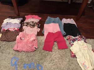6 to 9 months girl clothes for Sale in Fairfax, VA