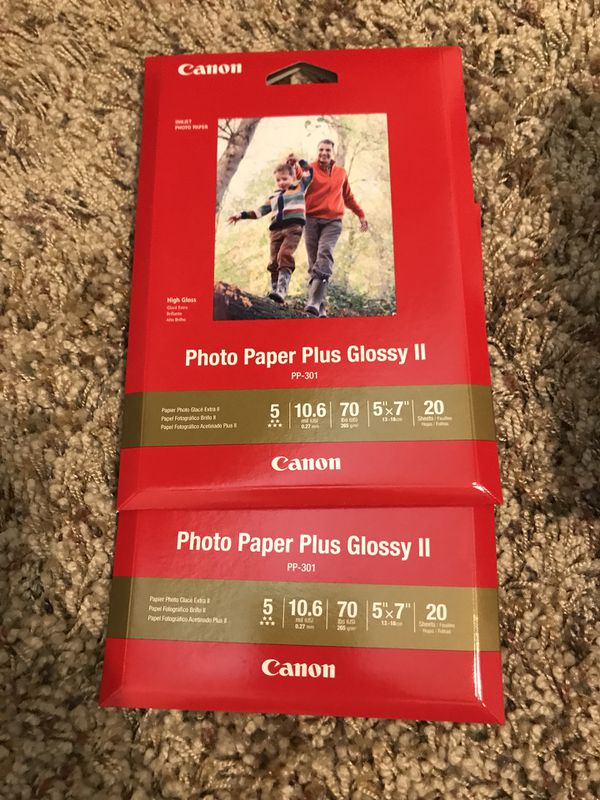 Canon Paper Plus Glossy Ii For Sale In Reedley Ca Offerup
