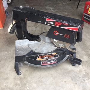 Sears Craftsman Radial Arm Miter Saw Power for Sale in Davenport, FL