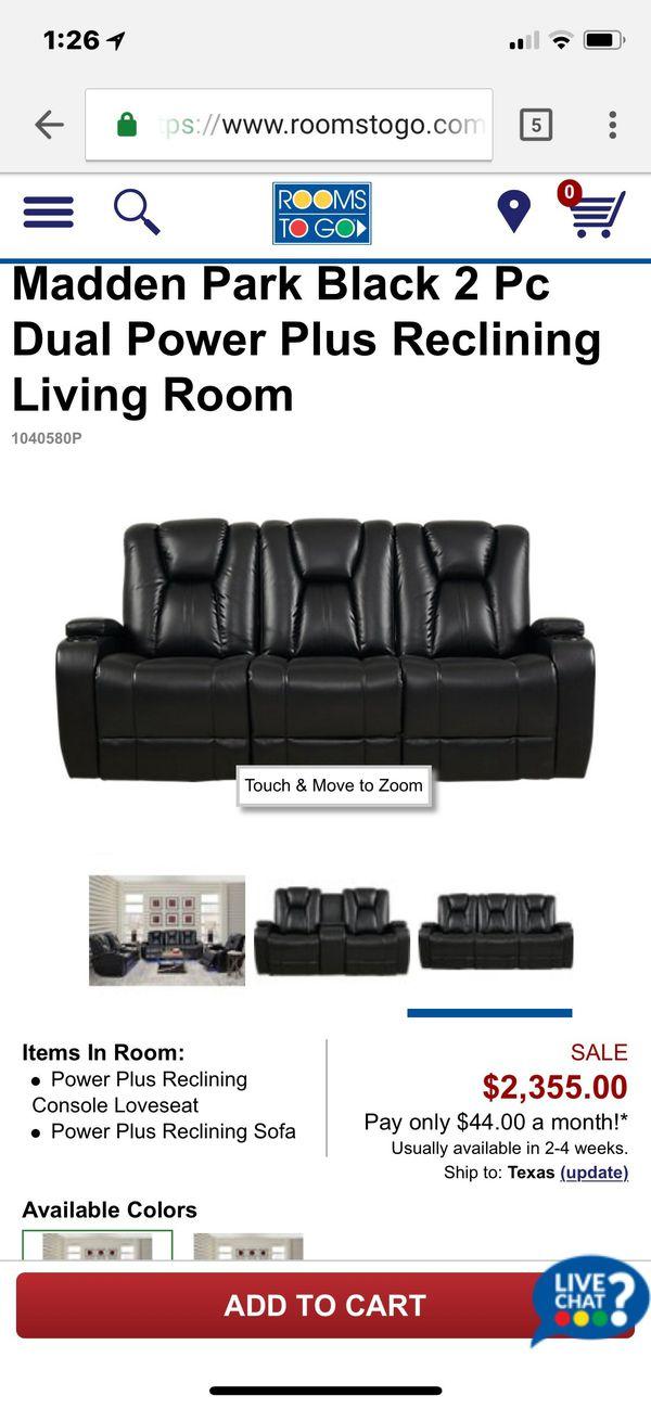Tremendous Madden Park 2 Piece Reclining Living Room Set For Sale In Creativecarmelina Interior Chair Design Creativecarmelinacom