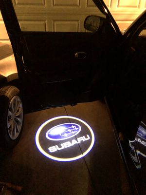 Subaru car door light shines on the ground automatically when you open your door for Sale in El Monte, CA
