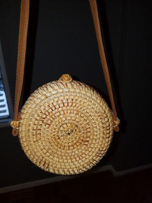 NEW Woven Basket handbag for Sale in Bethesda, MD