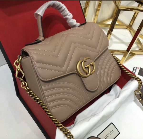 7ccda208c81 Gucci GG Marmont Medium top handle bag AUTHENTIC for Sale in North ...