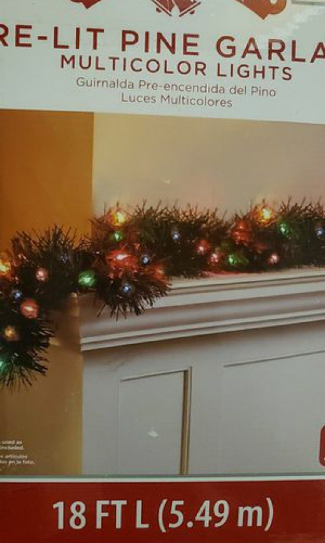 Garland with multicolor lights for Sale in Los Angeles, CA