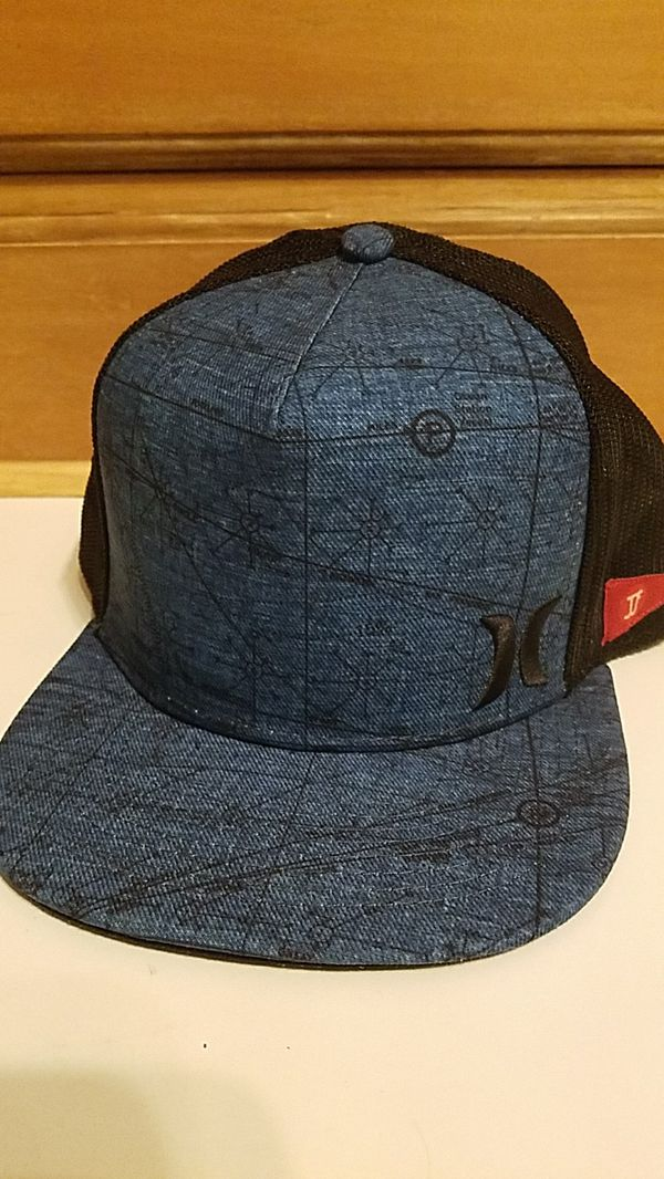 d1c6ade4bf0 ... discount code for hurley jjf maps trucker hat blue black new for sale  in beaverton or