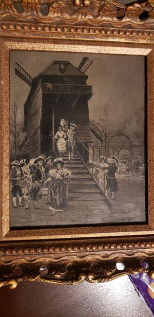 19th Century oil painting for Sale in Marshall, VA